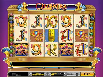 Classic Cleopatra Slot Game by IGT
